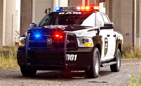 Ram Truck Rolls Out Crew Cab 4×4 Special Services Police