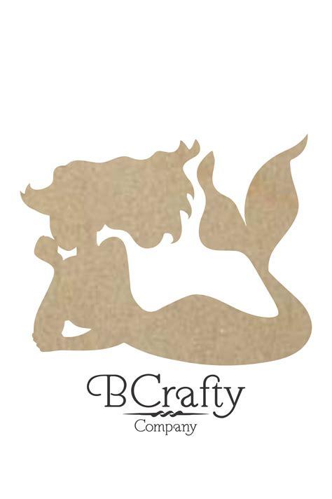 wooden mermaid cutout wooden mermaid craft shape