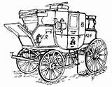 Horse Royal Buggy Mail Carriage Drawn Coloring Cart Coach Carriages Pages Drawing Stagecoach Aristocrats Stage Road Getdrawings Coaches Covered Victorian sketch template