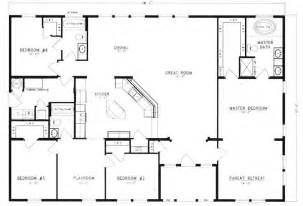 a house floor plan metal 40x60 homes floor plans floor plans i 39 d get rid of the 4th bedroom and that a