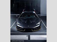 Lamborghini Centenario Arrives in Hong Kong in Glorious