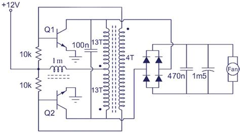 Zouhair Electronics Voltage Booster Circuit