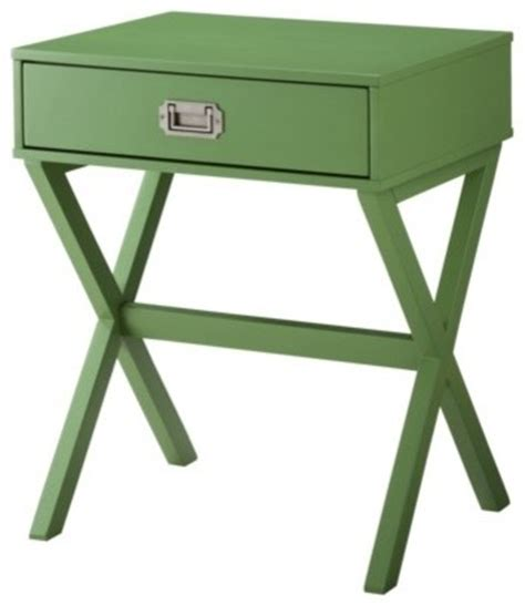 modern table ls target threshold caign side table green modern side