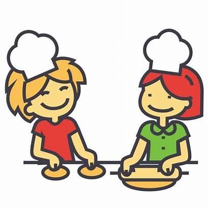 Cooking Icon Children Class Classes Line Clip