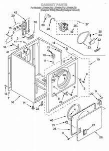 Looking For Whirlpool Model Ler4634jq0 Dryer Repair