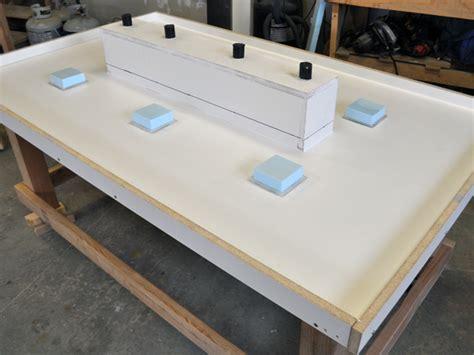 stunning led concrete patio table   built  cooler