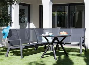 Salon De Jardin Angle : salon de jardin avec fauteuil d 39 angle meubles de jardin proloisirs ~ Teatrodelosmanantiales.com Idées de Décoration