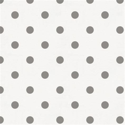 White And Gray Polka Dot Fabric By The Yard  Gray Fabric