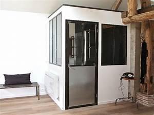 les etapes cles pour realiser une verriere d39interieur sur With porte d entrée alu avec salle bain marbre
