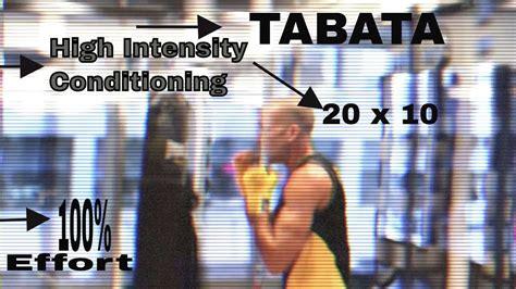 Fitness Tabata High Intensity Conditioning Beginner