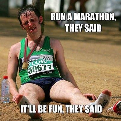 Running Marathon Meme - 17 best images about 26 2 marathon mania on pinterest firefighters runners and marathon running