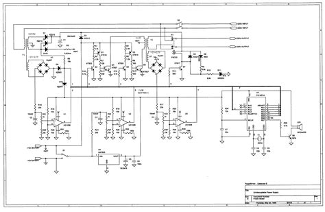 ups design 2 16f84 based ups circuit repository next gr