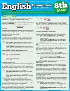 Quickstudy English  Common Core 8th Grade Laminated Study