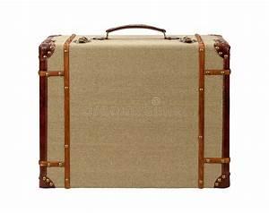 Valise En Bois : valise en bois de toile de jute de deco avec le chemin de coupure photo stock image du ~ Teatrodelosmanantiales.com Idées de Décoration