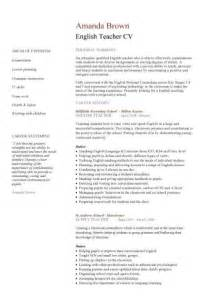 curriculum vitae for a teaching position cv template lessons pupils teaching school coursework