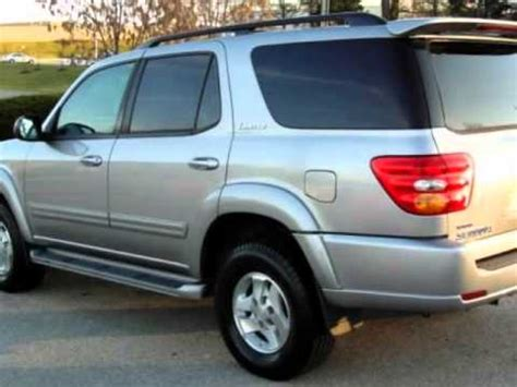 how cars engines work 2002 toyota sequoia navigation system 2002 toyota sequoia 4dr limited 4wd youtube
