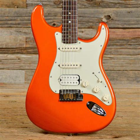 fender american deluxe stratocaster hss electric guitar reverb
