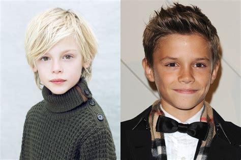 Модные стрижки для мальчиков от 3 до 14 лет .