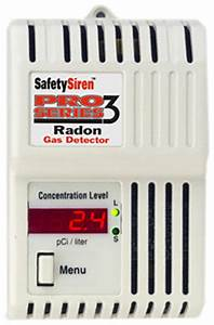 Safety Series Radon Gas Detector - THEHS71512
