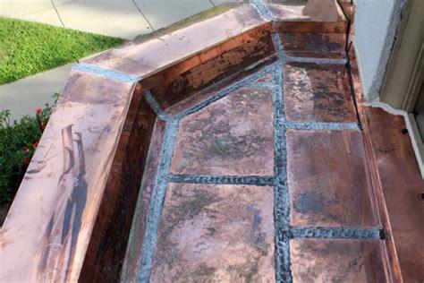 custom copper works copper gutters copper hoods barrel