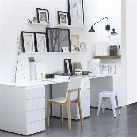 bureau blanc la redoute 17 meilleures idées à propos de bureau ikea sur