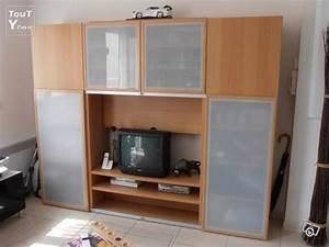 Meubles Besta Ikea : meuble tv rangement besta de chez ikea mauguio 34130 ~ Nature-et-papiers.com Idées de Décoration