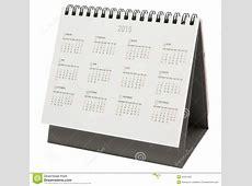 Desk Calendar 2016 Colorful Line Abstract Design Template