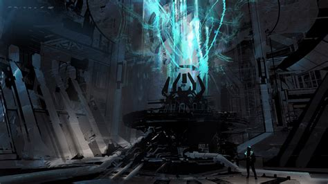 Halo 4 Concept Art By Thomas Pringle Concept Art World