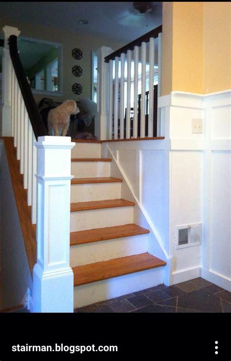 split level stairs update updating house kitchen decor