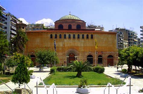 cupola di santa sofia basilica di santa sofia salonicco paleocristiana