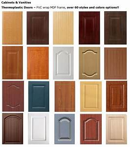 Cabinet Doors Toronto :: PVC wrap with MDF Frame