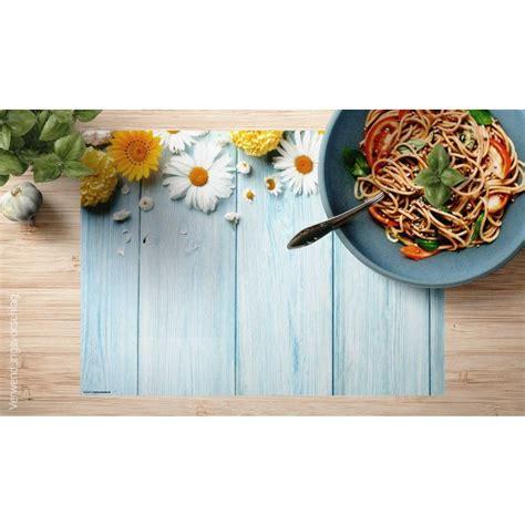 Tischsets Aus Holz by Tischset Platzset Bl 220 Ten Auf Holz Aus Papier