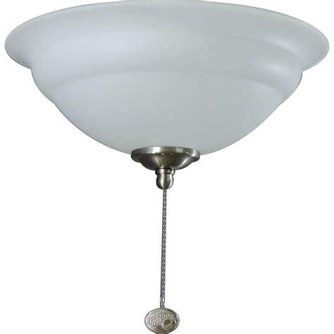 Hampton Bay 3light Universal Ceiling Fan Light Kit With