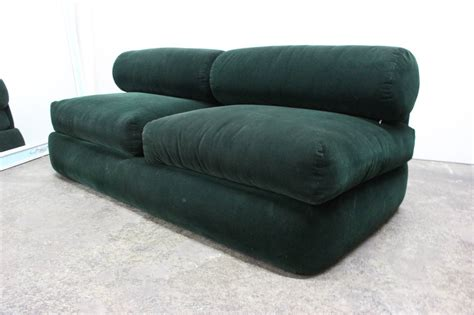 green sofas for sale green corduroy sofa in the style of milo baughman for sale