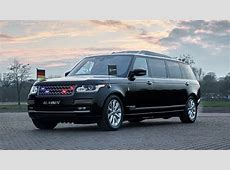 Bulletproof luxury The Range Rover Sentinel Stretchcar