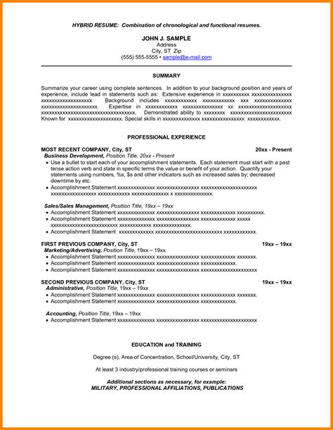Hybrid Resume Template 2017 by Doc 4788 Hybrid Resume Template Free 50 Related Docs