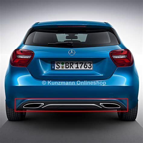 Facelift Diffusor Aclass W176 Urban Original Mercedesbenz