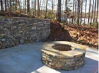 stone fire pit Stacked Stone Fire Pit | FIREPLACE DESIGN IDEAS