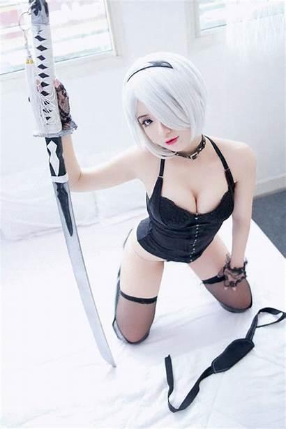 2b Chono Cosplay Nier Automata Yorha Anime