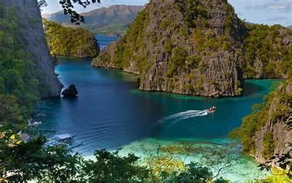 Philippines Coron Wallpapers Island Palawan Islands Desktop