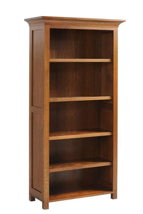 coventry mission style bookcase  dutchcrafters amish