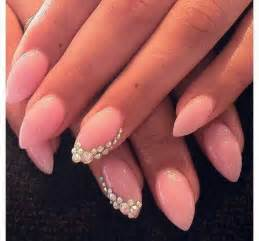 Art nails design cute stilleto point