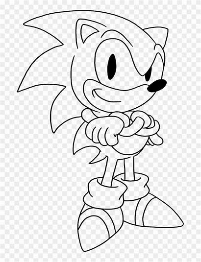Sonic Coloring Pages Classic Colorear Para Being