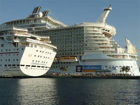 Small Boat Cruises Caribbean by Big Ship Royal Caribbean Of The Seas Ship