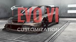 Need for Speed No Limits | Mitsubishi EVO VI CUSTOMIZATION ...