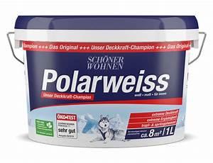 Schöner Wohnen Polarweiss : sch ner wohnen innenfarbe polarweiss 1 l ~ Watch28wear.com Haus und Dekorationen