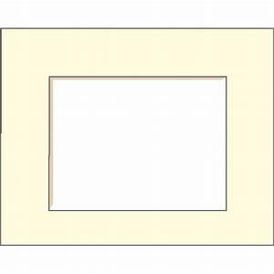 Passe Partout Encadrement : passe partout 21x29 7 cm blanc cass leroy merlin ~ Melissatoandfro.com Idées de Décoration