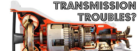 signs  transmission trouble