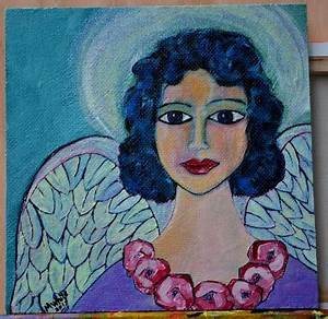 28 best angels and saints portfolio jane spakowsky images With best brand of paint for kitchen cabinets with wooden angel wings wall art