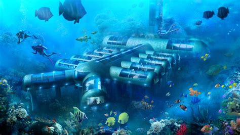 underwater hotel   lead    restoring